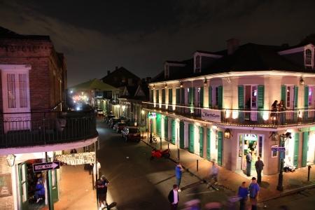 bourbon street: Bourbon street in New Orleans