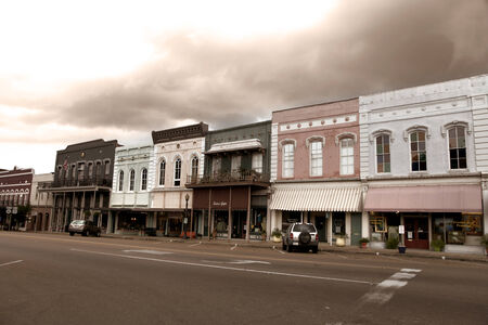 old towns: Downtown Canton Mississippi