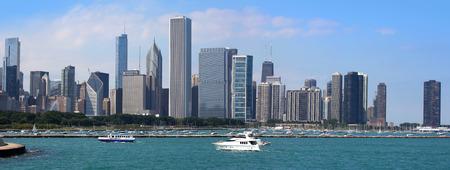 aon: Chicago skyline