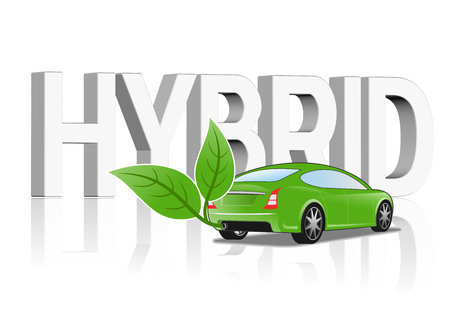 hybrid: An illustration of Hybrid vehicle concept