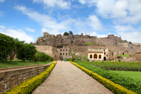 golconda: Golkonda fort, Hyderabad