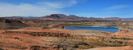 mead: Panoramic view of Lake Mead