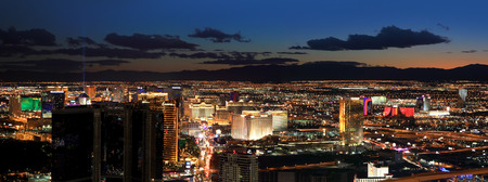 Las Vegas areal view 스톡 콘텐츠