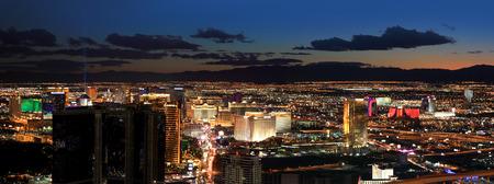 Las Vegas areal view Stockfoto