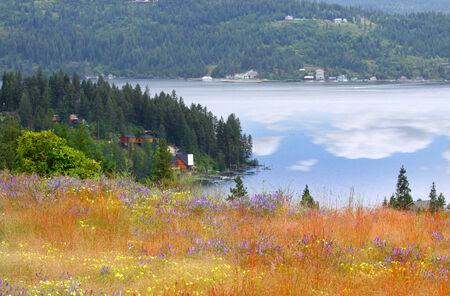 d: Lake Coeur d Alene