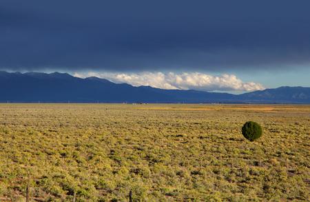 great plains: Colorado plains Stock Photo