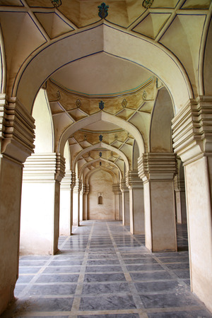Arches of historic Qutbshahi tombs