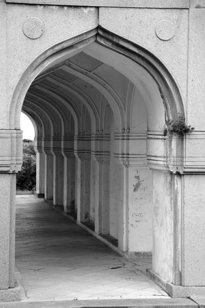 Qutbshahi tomb arches