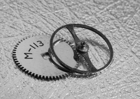 escapement: Tiny watch parts