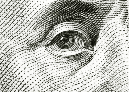 benjamin franklin: Eye of Benjamin Franklin