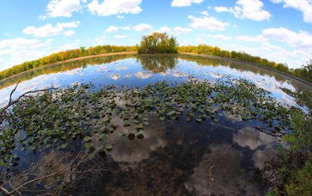 brisk: Lake Kensington in Michigan
