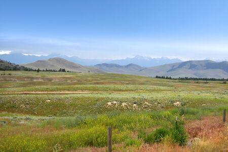 bike trail: Scenic landscape near Kalispell, Montana