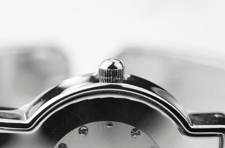 bezel: Close up shot of watch adjustment wheel