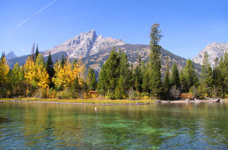 jenny: Jenny lake in Grand Tetons