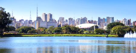 Sao Paulo panoramic view photo