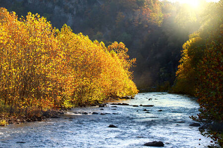 west virginia: North Fork Potomac river Stock Photo