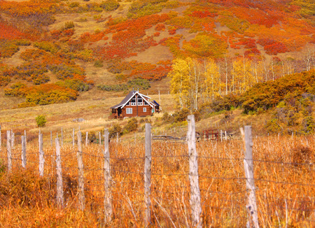 colorado state: Colorado rural landscape