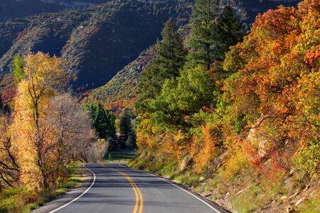 four peaks wilderness: Million dollar high way Stock Photo