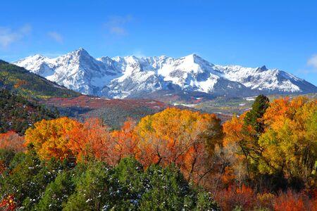 colorado rocky mountains: Mount Sneffles landscape