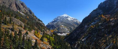 hayden: Hayden mountain peak in Colorado Stock Photo