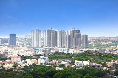condominium complex: Skyscrapers in Hyderabad