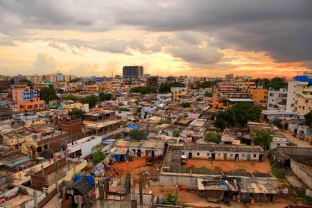 slums: Slums in Hyderabad