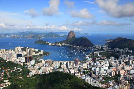 Scenic landscape of Rio De Janeiro city