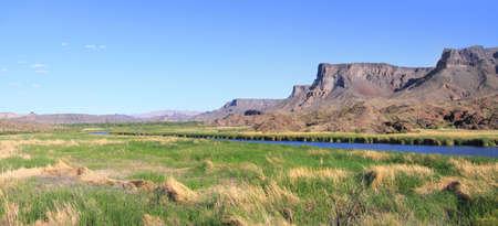 williams: Bill Williams river landscape