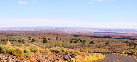 volcan: Landscape near Sunset Crater volcan