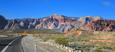 mojave: Red rock canyon national park