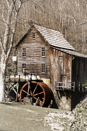 grist mill: Glade creek Grist mill