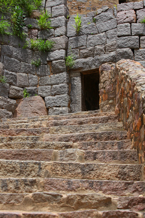 golconda: Golkonda fort stairs