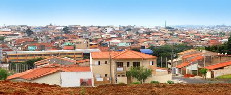 suburban street: Sorocaba suburbs Stock Photo
