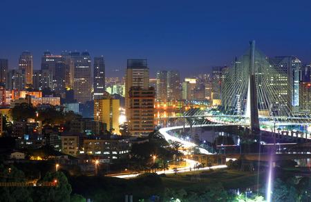 Estaiada Bridge  Sao Paulo