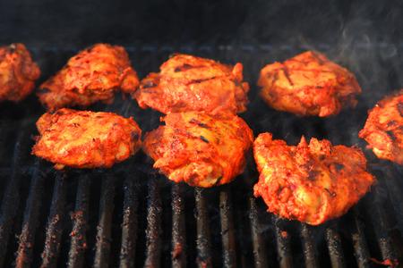 seekh: Grilled chicken