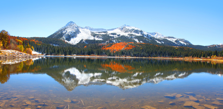 slough: Lost lake slough,Colorado Stock Photo