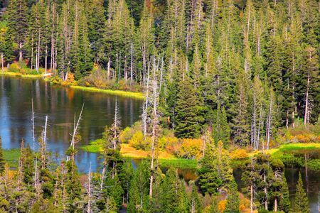 mammoth lakes: Mammoth lakes Stock Photo
