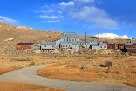 industrial park: Old mine preserved in Bodie, California Stock Photo