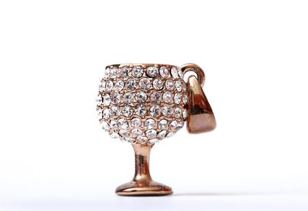 goblet: Isolated Crystal goblet locket