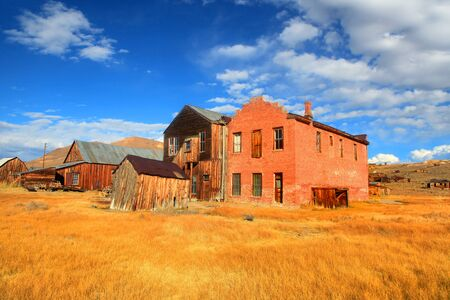 historic buildings: Preserved historic buildings in Bodie California