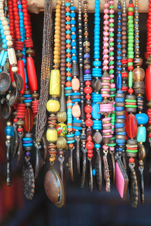 hand crafted: Colorful hand crafted Indian necklaces