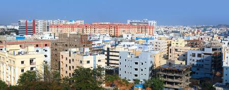 hyderabad: Hyderabad cityscape Editorial