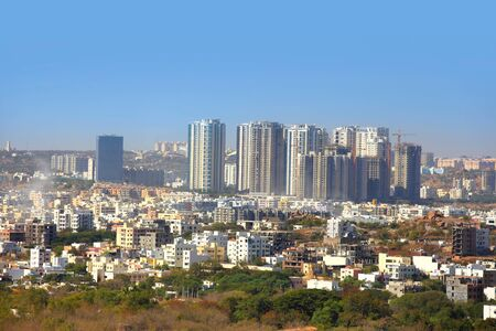 Mulund city in Mumbai Standard-Bild