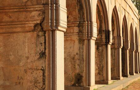 Qutbshahi tombs varandah