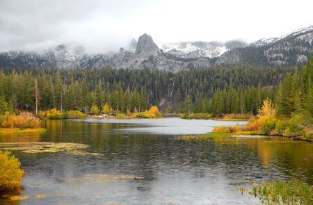 mammoth lakes: Lake Mamie, California Stock Photo