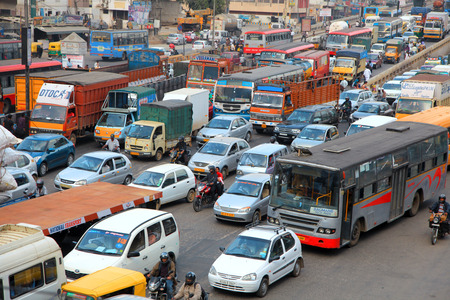 Bangalore city traffic 에디토리얼