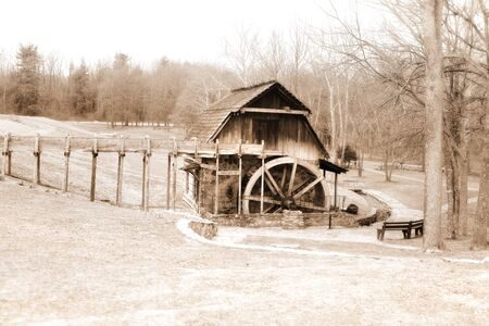 grist mill: Grist Mill, Fowler park Indiana