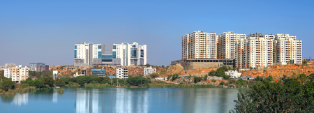 hyderabad: Hitec city is a information technology hub in Hyderabad, India