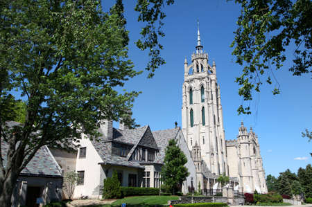 religious building: Historic church in Michigan