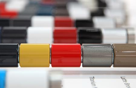 Automotive kleurstalen externe verf